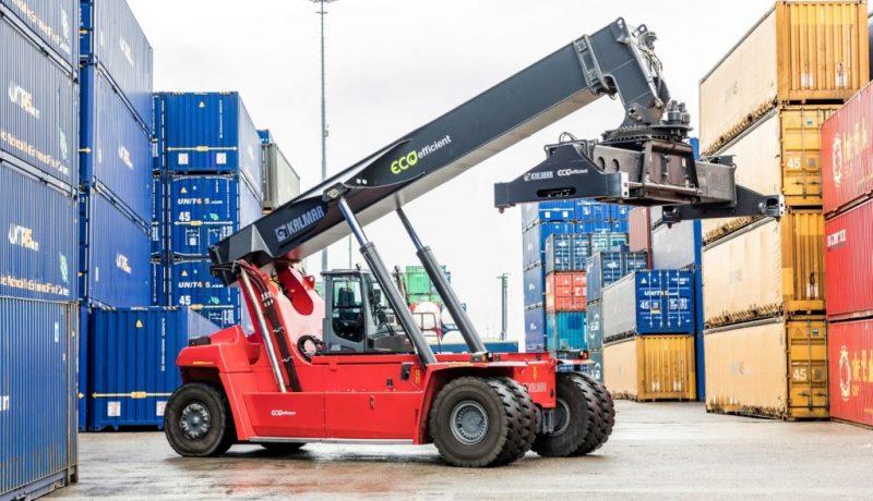 Kalmar Eco Reachstackers Cargotec