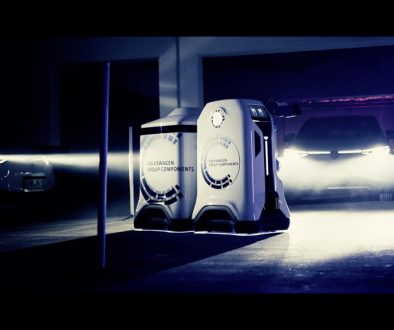The mobile charging robot by Volkswagen