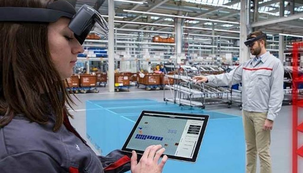 realtà virtuale e logistica