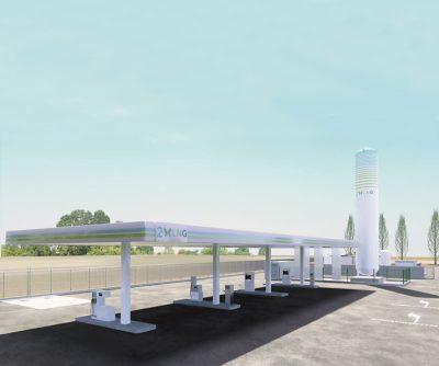 Impianto di rifornimento di biometano liquido e gassoso