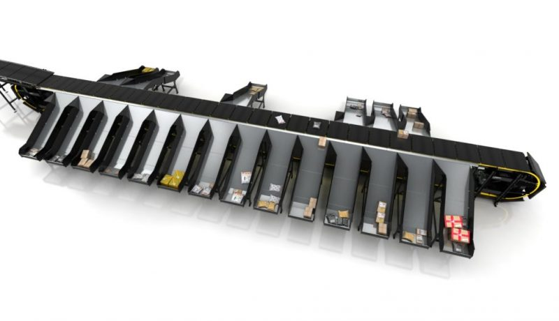 Interroll Crossbelt Sorter verticale