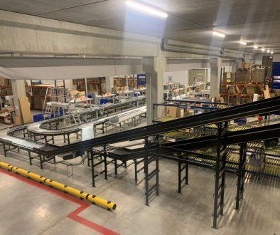 centro di distribuzione di Imnasa in Spagna